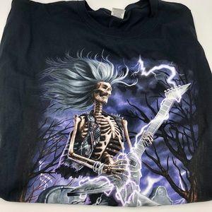 Rocker Skeleton T-Shirt